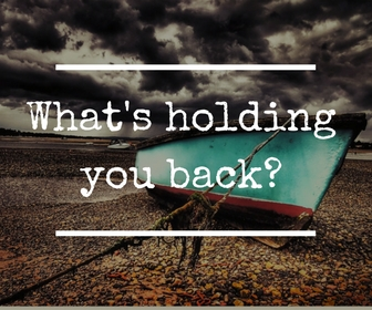 What's holding you back -counselling with the Exe Counsellor in Exmouth Maxine Reece